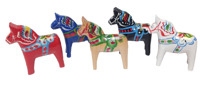Traditional Dala Horses