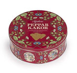 Nyåckers Pepparkakor Cookie Tin - Red